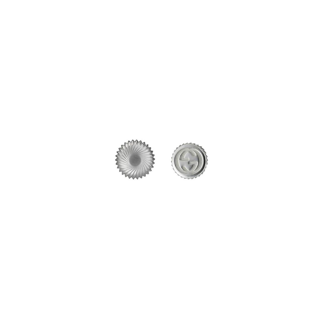 Orecchini asimmetrici con logo GG GUCCI earrings sconto discount