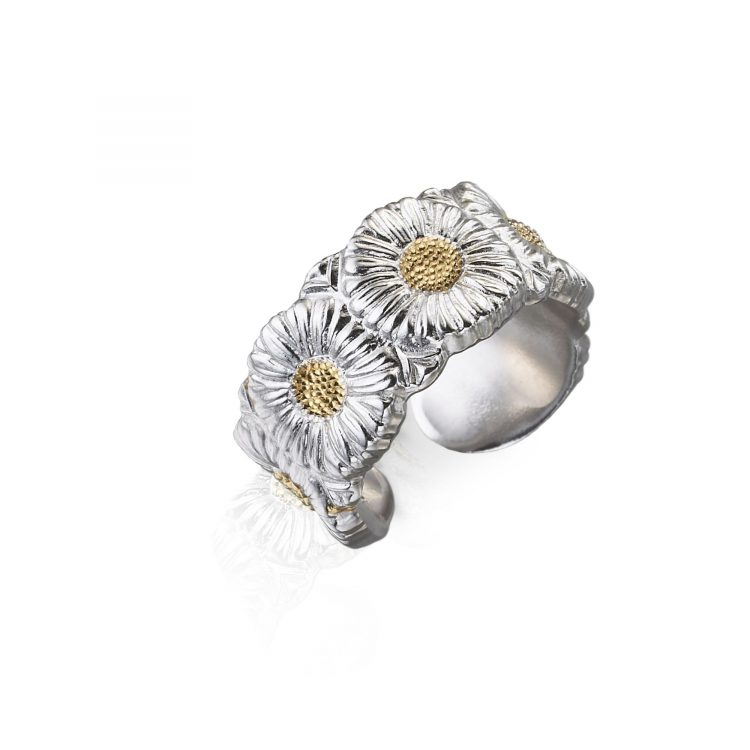 ANSRFMRGET anello buccellati margherite eternell ring sconto discount