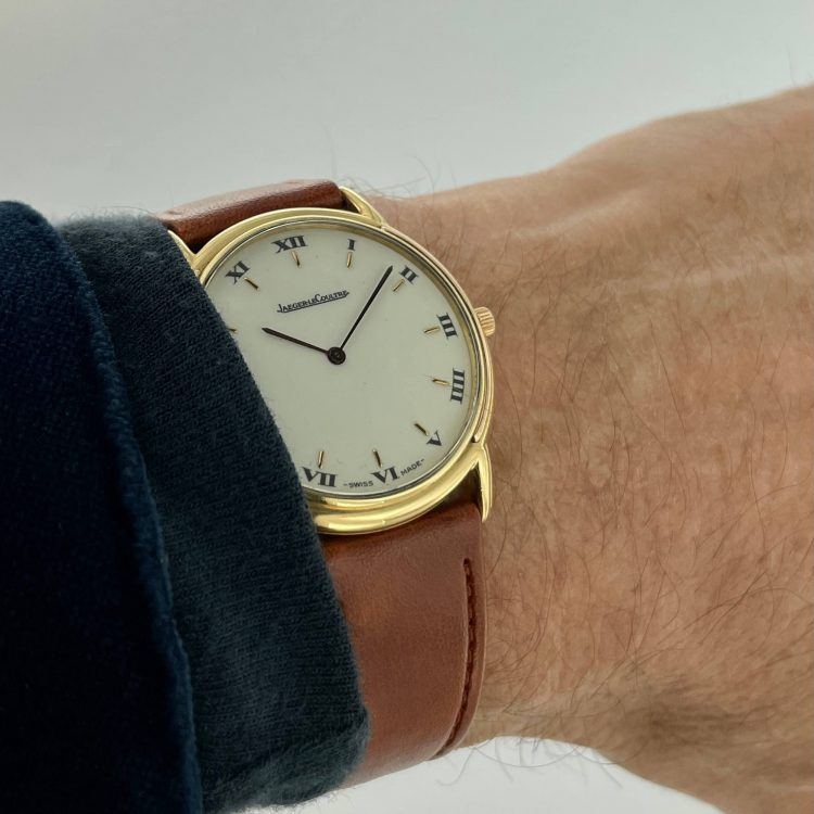orologio jaeger le coultre oro giallo carica manuale modello odysseus 174.7.79 Vintage watch gold sconto discount