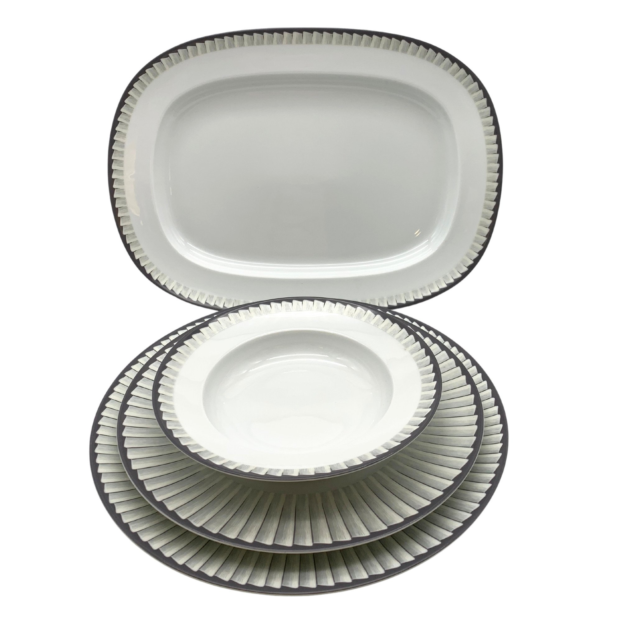 Dinner service for 12 Jl Coquet Servizio di piatti per 12 Jl Coquet sconto discount