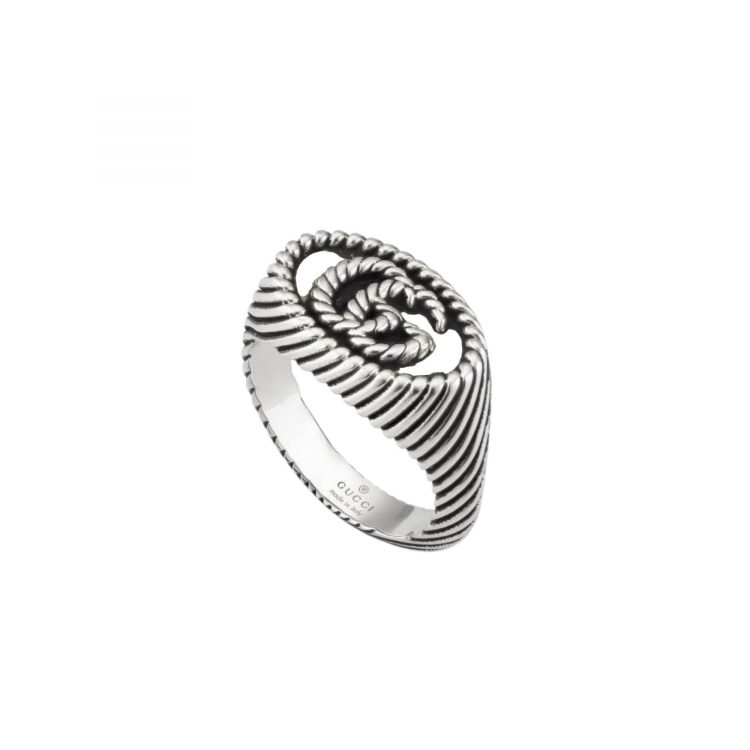 YBC627751001 anello gucci chevalier marmont sconto discount ring