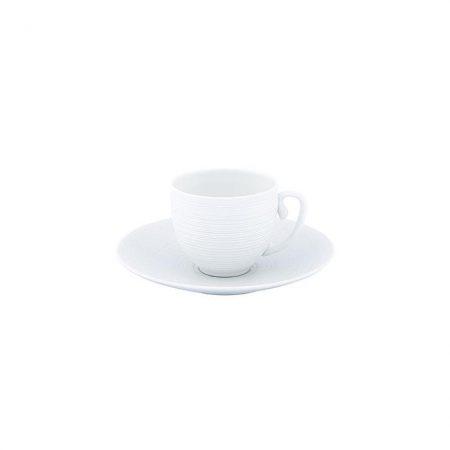 HEMISPHERE satin bianco - Set da caffè (tazza e piattino) coffee set jl coquet sconto discount