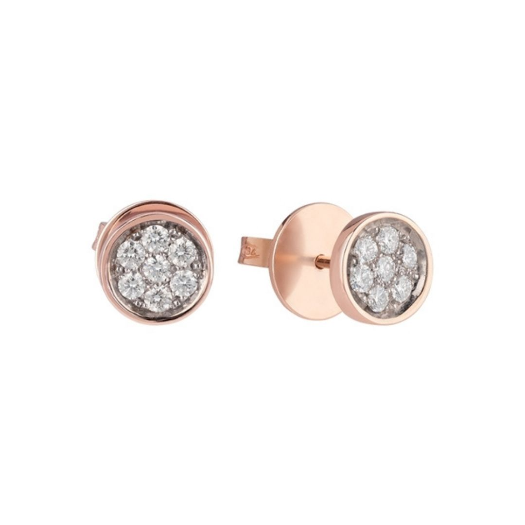 orecchini al lobo chantecler earrings diamonds sconto discount 40477