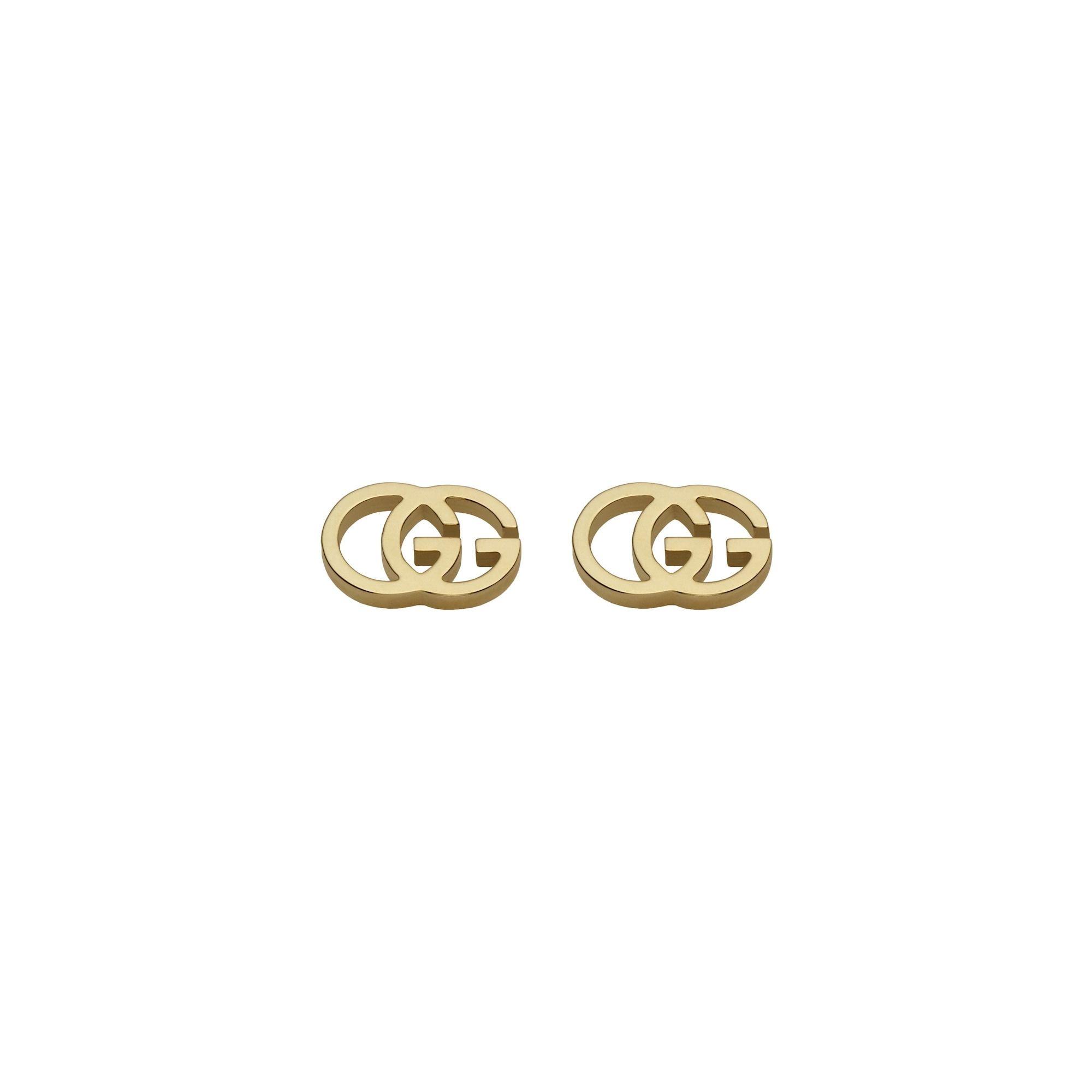 Orecchini Gucci GG tissue earrings sconto discount