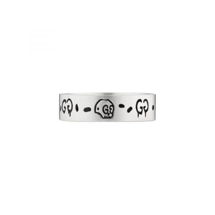 Anello Gucci Ghost 6 mm sconto discount ring