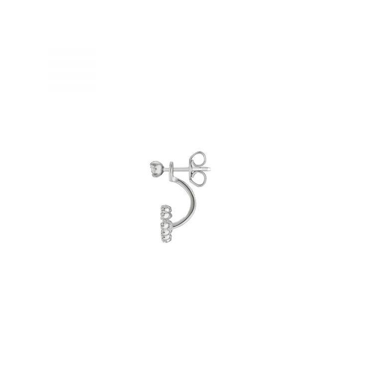 Gucci Orecchino singolo con GG Running e diamanti single earring diamonds sconto discount