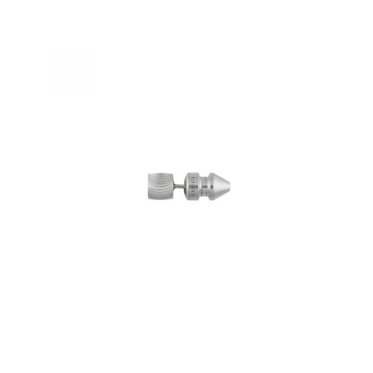Orecchini GUCCI asimmetrici con logo GG