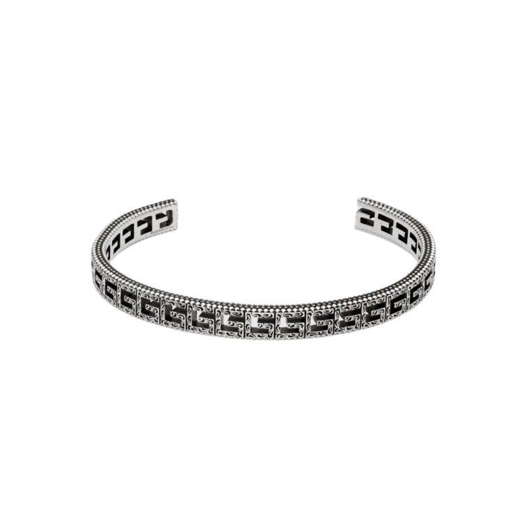 576990 J8400 0811 gucci bracciale quadro bracelet square sconto discount