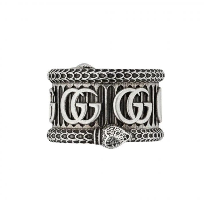 577201 J8400 0811 a ring man gucci sconto anello discount