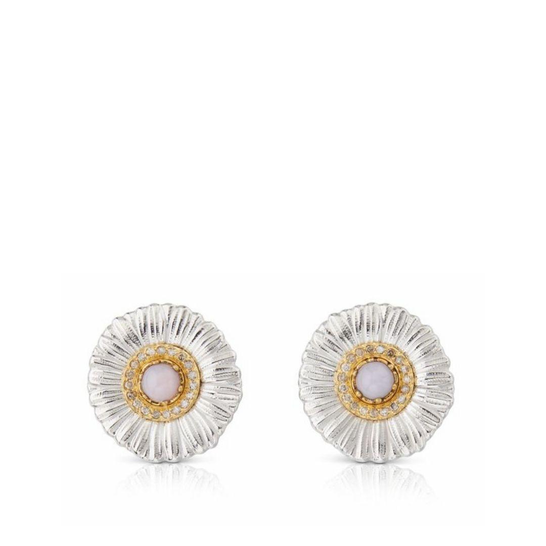 Buccellati Daisy Orecchini blossom color sconto discount earrings