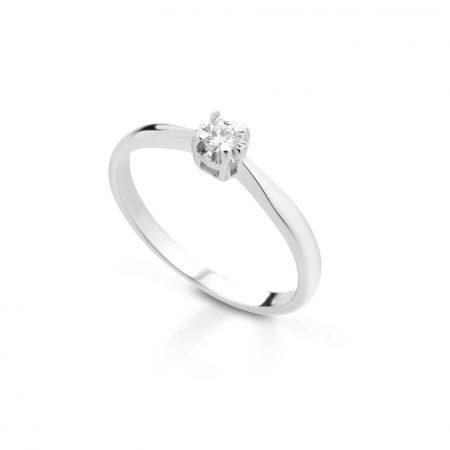 Anello solitario con diamante Solitaire ring with diamond sconto discount B