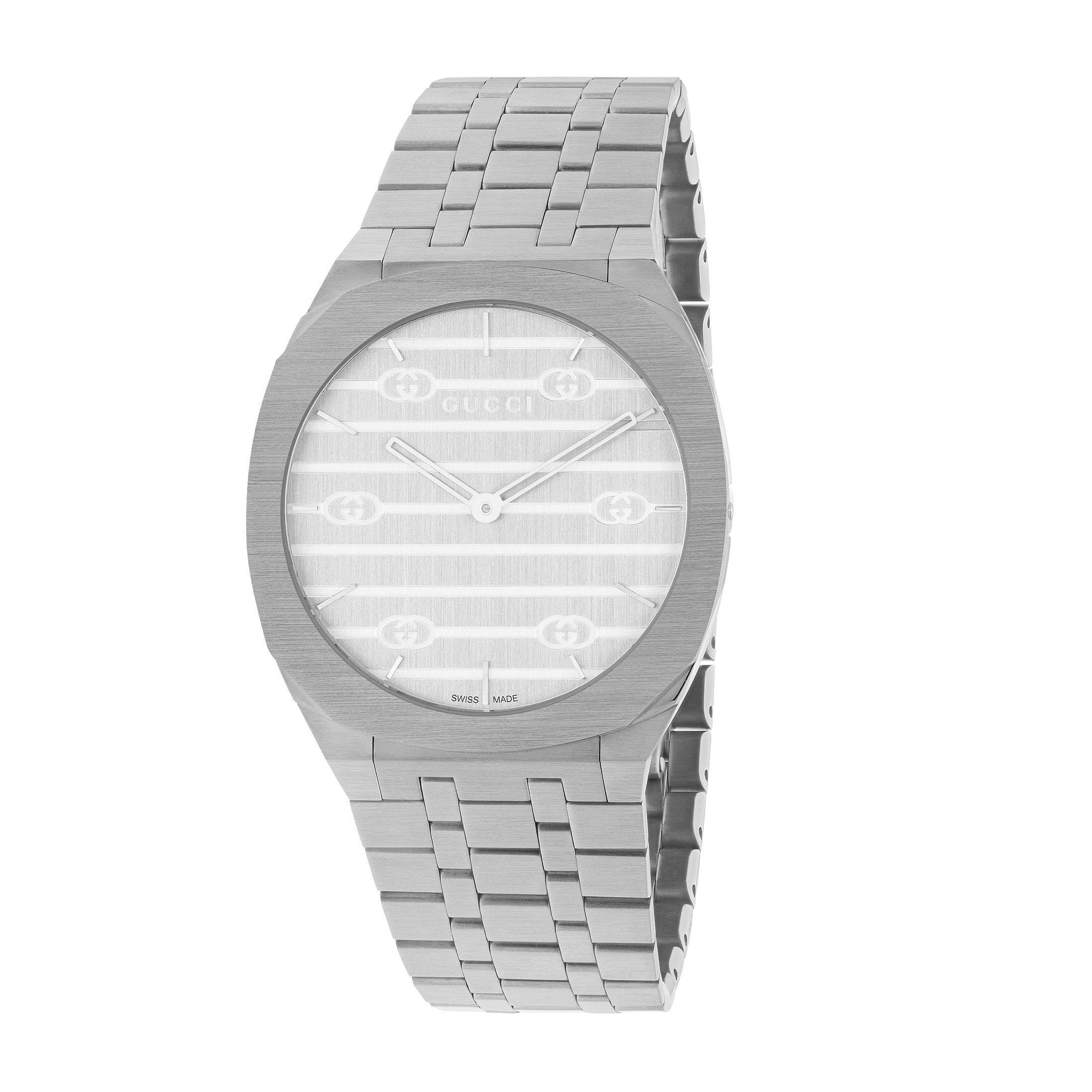 Orologio Gucci 25H 34 mm watch sconto discount